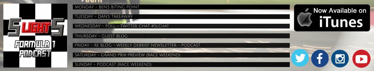 5 Lights Formula 1 Podcast